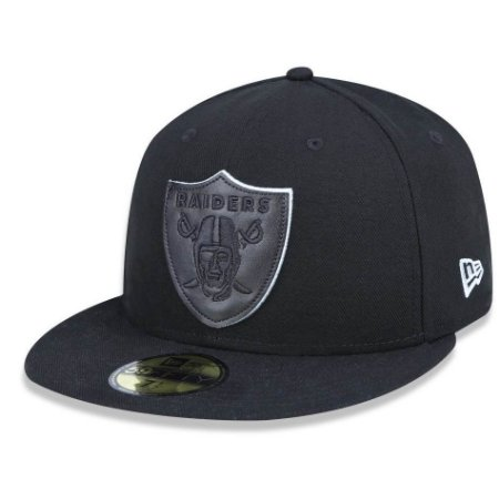Boné Oakland Raiders 5950 Core 3D Fechado - New Era