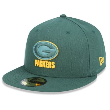 Boné Green Bay Packers 5950 Core 3D Fechado - New Era
