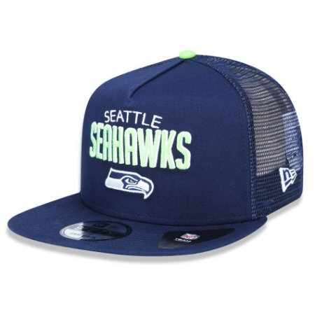 Boné Seattle Seahawks 950 A-Frame Trucker Sports - New Era
