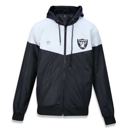 Jaqueta Quebra vento Windbreaker Oakland Raiders Vein - New Era