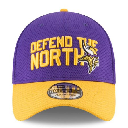 Boné Minnesota Vikings Draft 2018 3930 - New Era - FIRST DOWN ... 4f6e77d8dd1