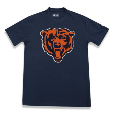 Camiseta Chicago Bears Basic Azul - New Era