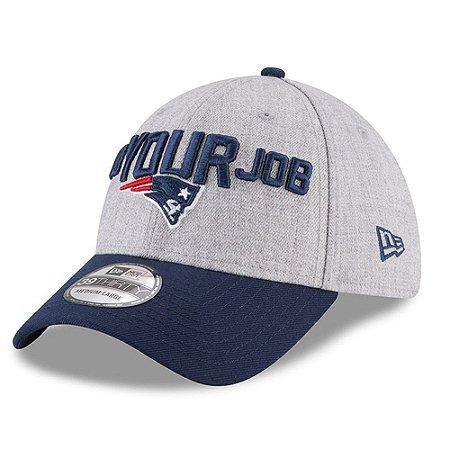Boné New England Patriots 3930 Draft 2018 Stage - New Era