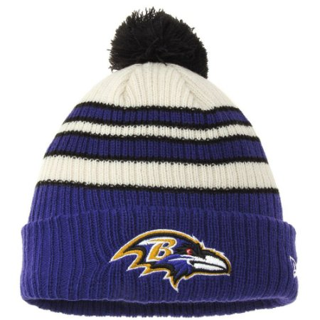 Gorro Touca Baltimore Ravens Tradicional Stripe - New Era
