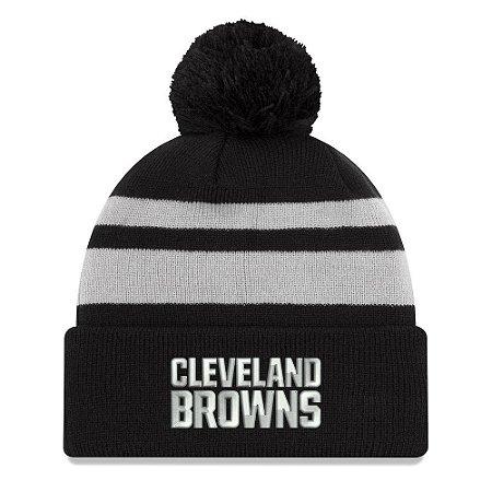 Gorro Touca Cleveland Browns Black Cuffed - New Era