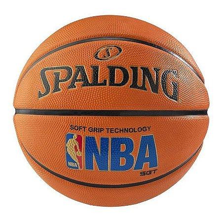 Bola de Basquete Spalding Logoman Soft Grip
