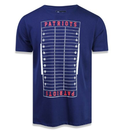 Camiseta New England Patriots Versatile Sport Field - New Era