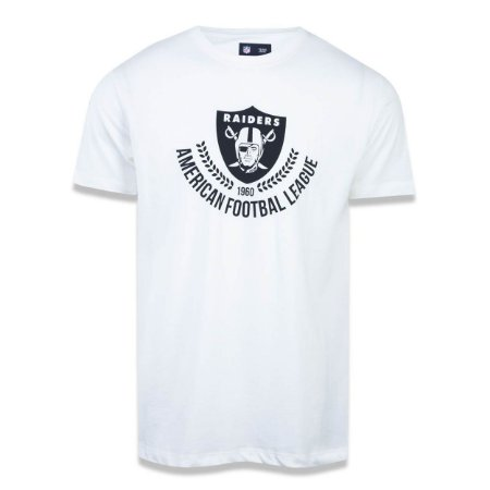 Camiseta Oakland Raiders Essential Louros - New Era