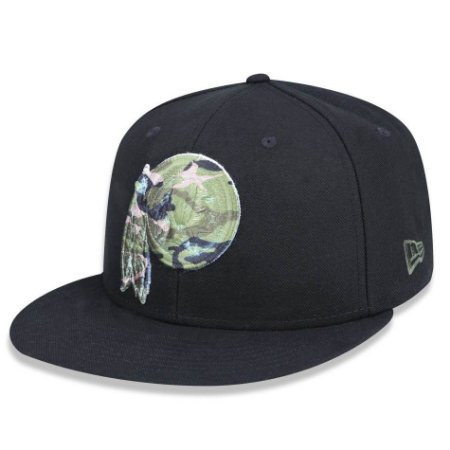 f0adc3fe3bf12 Boné Washington Redskins 5950 Militar Logo Camo Fechado - New Era ...