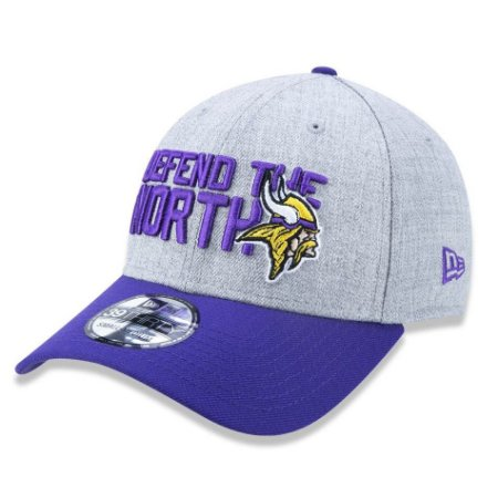 Boné Minnesota Vikings 3930 Draft 2018 Stage - New Era