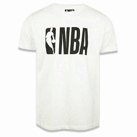 Camiseta Logo Man NBA Off White - New Era