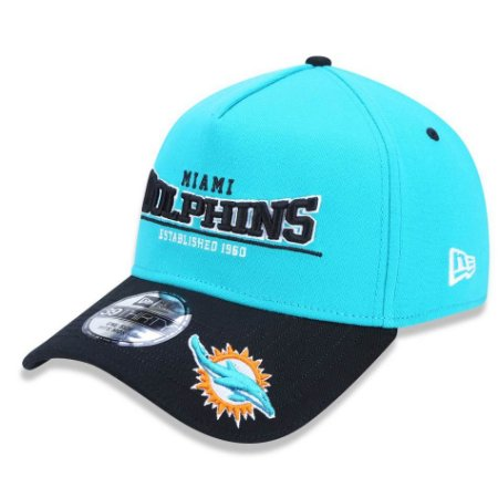 62145d3d6 Boné Miami Dolphins 3930 Versatile Sport Logo - New Era - FIRST DOWN ...