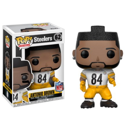 Funko Pop Antonio Brown 84 Pittsburgh Steelers