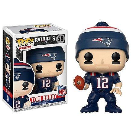 Funko Pop Tom Brady 12 New England Patriots