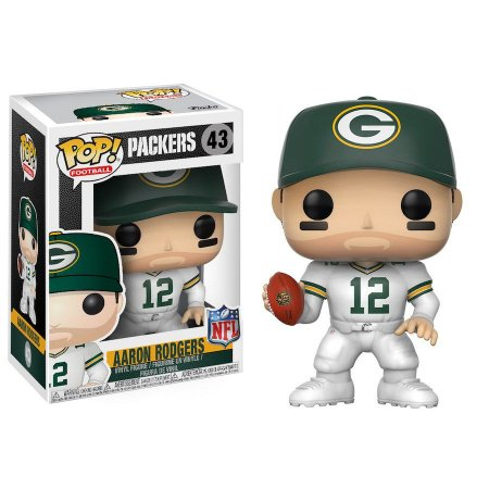 Funko Pop Aaron Rodgers 12 Green Bay Packers