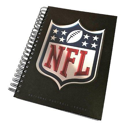 Caderno Team 3D NFL Logo