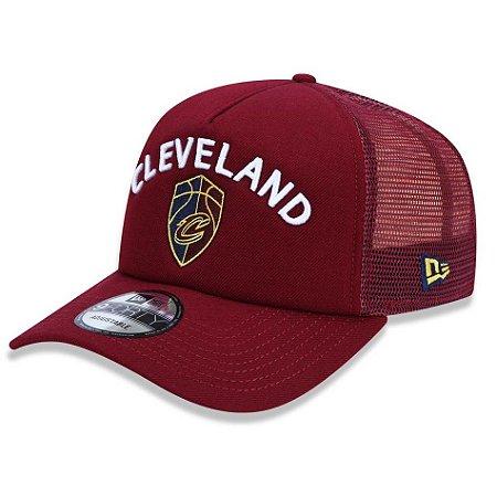 Boné Cleveland Cavaliers 940 A-Frame Class Trucker - New Era - FIRST ... 64104435113