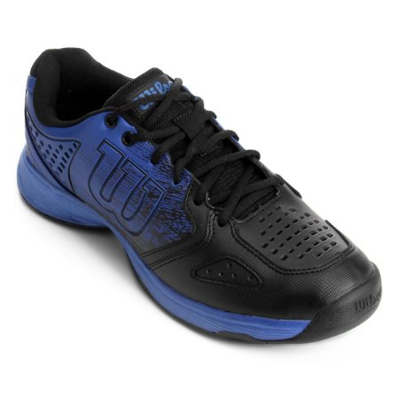 Tenis Wilson K Ultimate Azul e Preto
