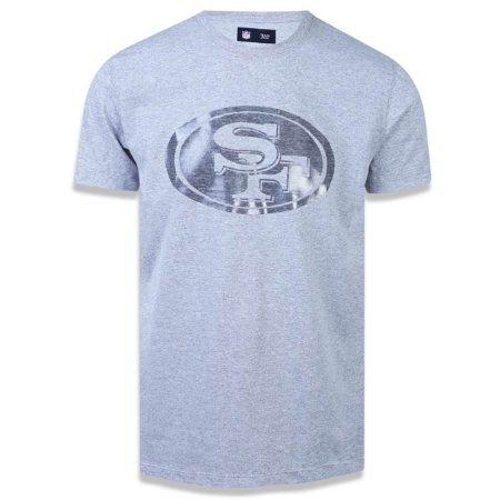 b968f8bf1b Camiseta San Francisco 49ers Versatile Sport Logo Sobreton - New Era