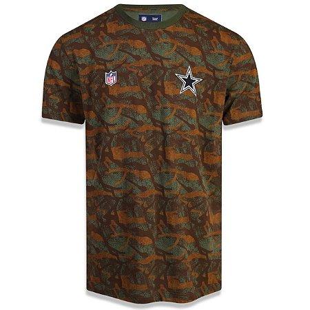 Camiseta Dallas Cowboys Revisited Camuflada - New Era