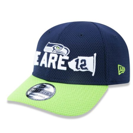 Boné Seattle Seahawks 3930 Spotlight Infantil - New Era