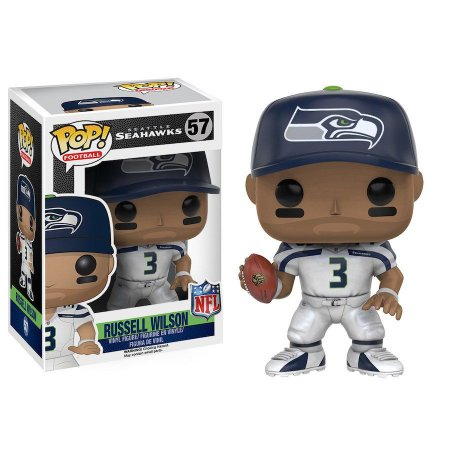 Funko Pop Russell Wilson 3 Seattle Seahawks