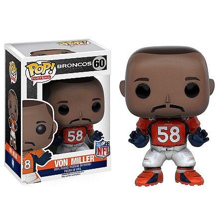 Funko Pop Von Miller 58 Denver Broncos