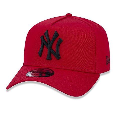 ee1f6d3d765d3 Boné New York Yankees 940 Veranito Logo Vermelho Preto - New Era ...