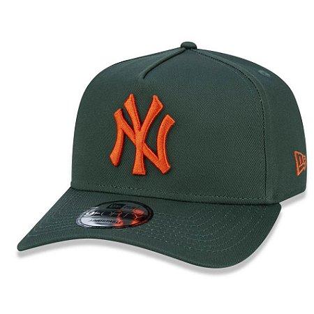 Boné New York Yankees 940 Veranito Logo Verde - New Era