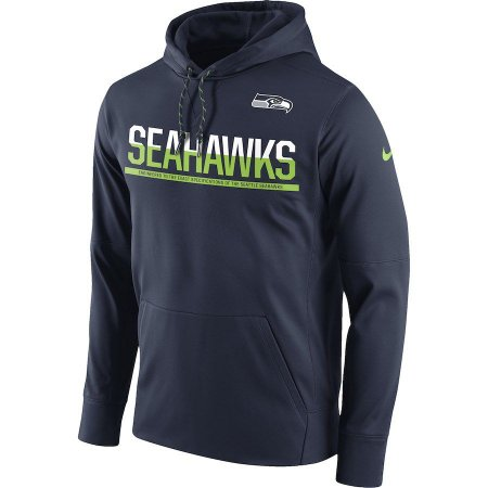 6e1d2481e9ac9 Casaco Moletom Seattle Seahawks Sideline Circuit - Nike - FIRST DOWN ...