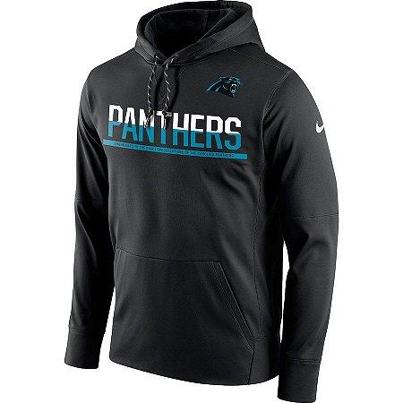 Casaco Moletom Carolina Panthers Sideline Circuit - Nike