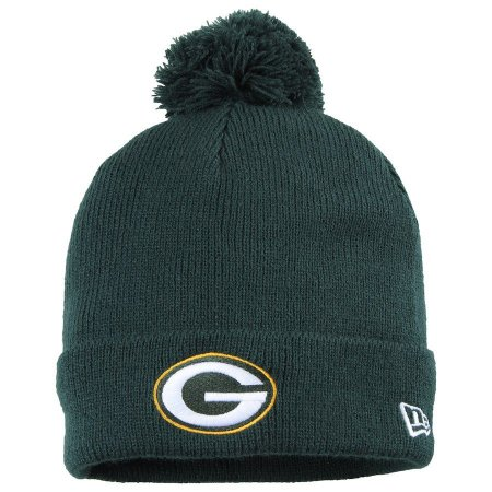 Gorro Touca Green Bay Packers Green Pom Pom - New Era - FIRST DOWN ... 44a4008dff8