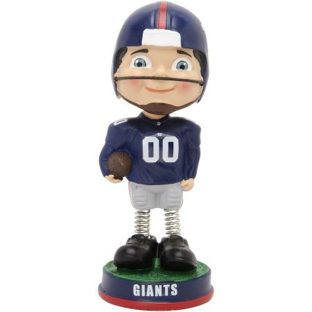 Boneco Retro Springy Legs Bobblehead New York Giants