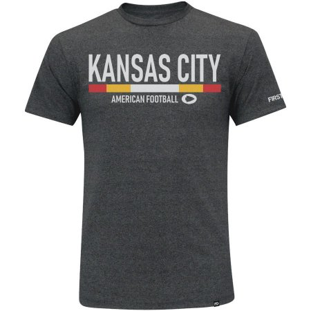 Camiseta First Down Kansas City Futebol Americano
