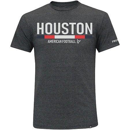 Camiseta First Down Houston Futebol Americano