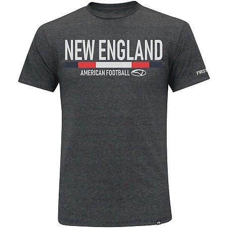 Camiseta First Down New England Futebol Americano