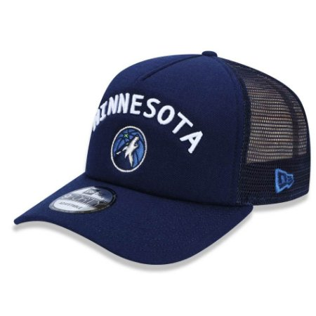 Boné Minnesota Timberwolves 940 A-Frame Class Trucker - New Era
