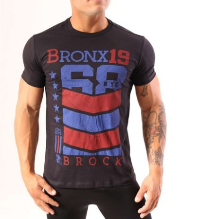 Camiseta Brock Bronx 19 Futebol Americano