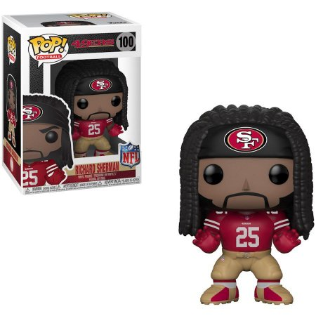 Funko Pop Richard Sherman 25 San Francisco 49ers
