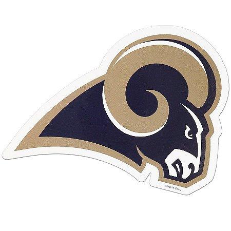 Imã Los Angeles Rams Logo Magnético 15cm