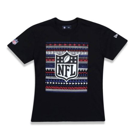 Camiseta NFL Native Americans Etinico Colors Infantil - New Era