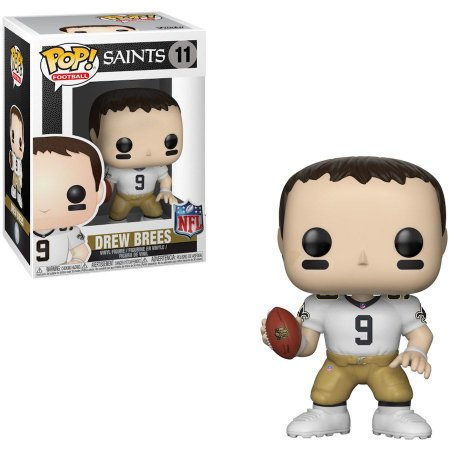 Funko Pop Drew Brees 9 New Orleans Saints