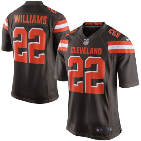 Camisa Jersey Nike Cleveland Browns MAS Game Tramon Williams