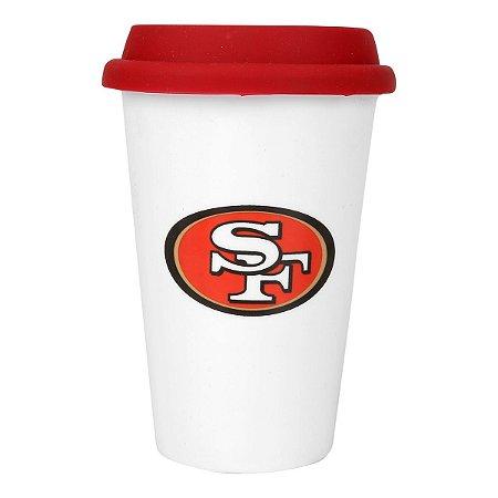 Copo de Café em Cerâmica San Francisco 49ers - NFL