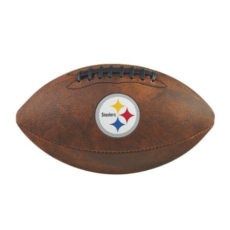 Bola Futebol Americano Pittsburgh Steelers Throwback - Wilson