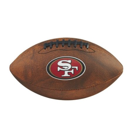 Bola Futebol Americano San Francisco 49ers Throwback - Wilson ... 46da2f3df1681