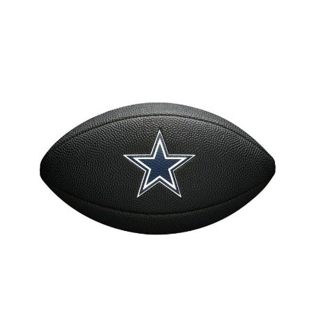 454239c936 Bola Futebol Americano Dallas Cowboys Team Logo Black - Wilson ...