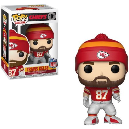 Funko Pop Travis Kelce 87 Kansas City Chiefs
