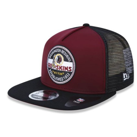Boné Washington Redskins 950 Destroyed Carimbo - New Era
