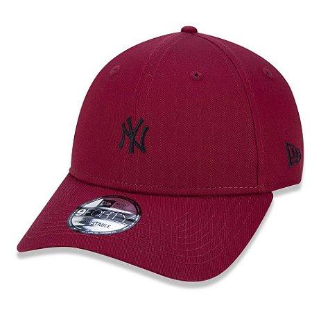 3073e460c4115 Boné New York Yankees 940 Veranito Mini Logo Vermelho Preto - New ...